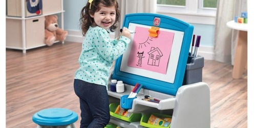 Kohl's: New $10 off $25 Purchase Coupon = Step2 Flip & Doodle Easel Desk w/ Stool & Bins Only $39.99