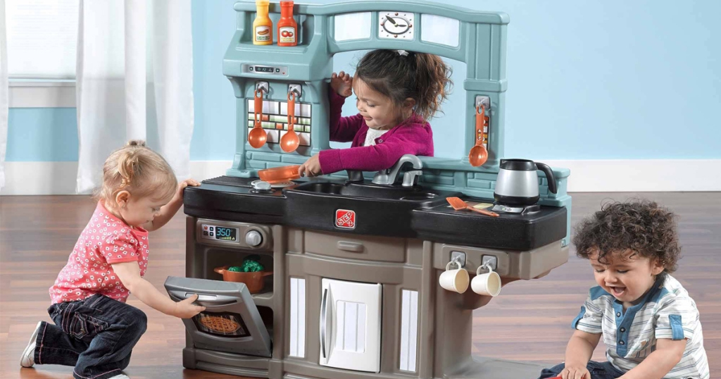 Step2 Best Chef\'s Play Kitchen Set Only $55 Shipped ...