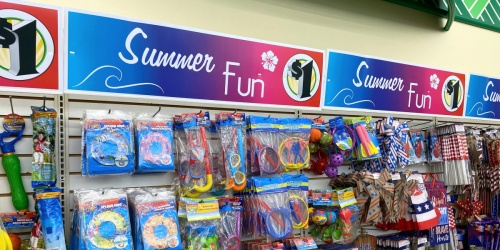 12 Kid's Summer Activities Using Only Dollar Tree Items