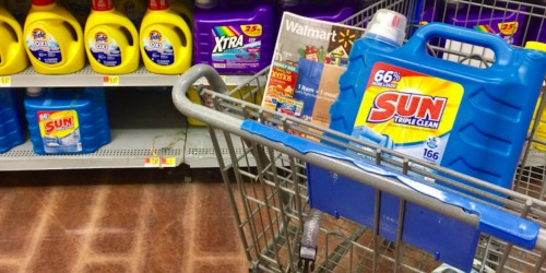 New $1.50/1 Sun Laundry Detergent Coupon = 250 Ounce Jug Only $6.47 at Walmart