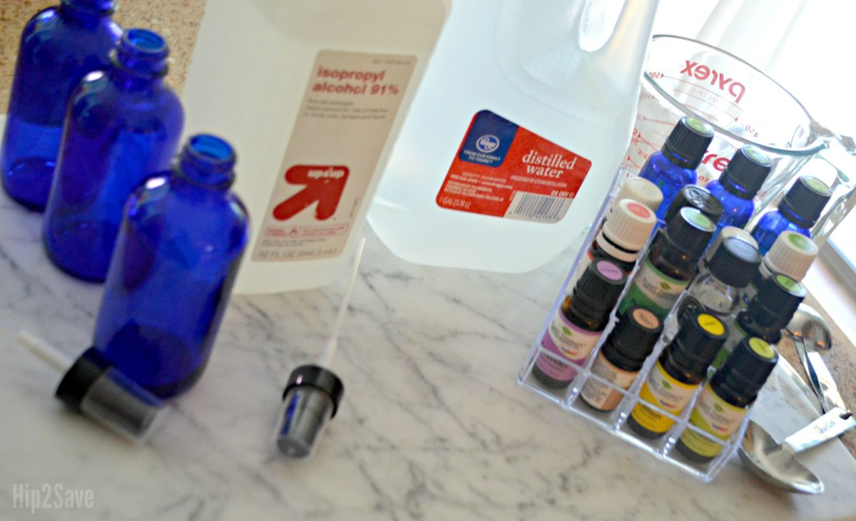 supplies for poop spray