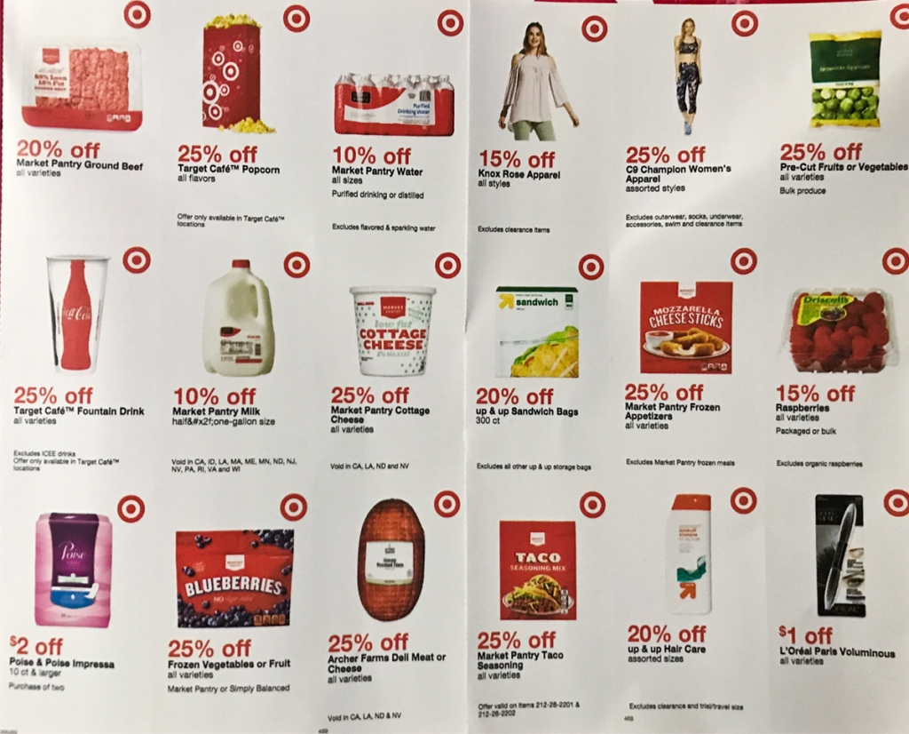 New Target Coupon Booklet Check Mailbox Hip2save