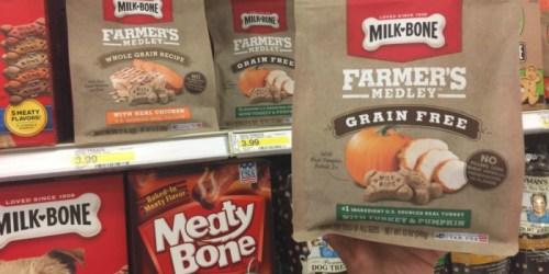 Target: Milk Bone Farmer's Medley Dog Treats 12 oz Bags Just $1.19 (Regularly $3.99)