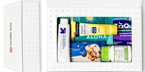 Target.com: FREE Health Care Box w/$30 Purchase = Great Deals on First Aid Products