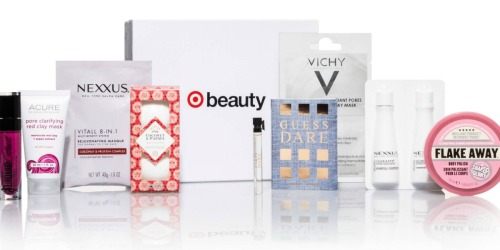 Target Beauty Box ONLY $10 Shipped ($33 Value)