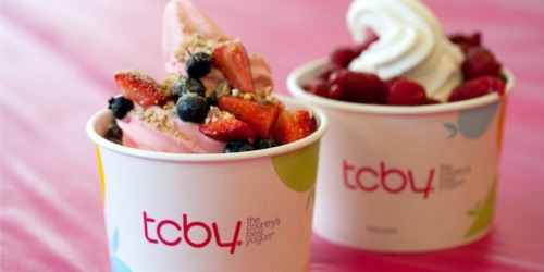 FREE TCBY Frozen Yogurt on Mother's Day