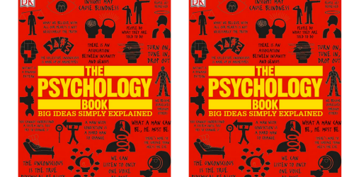 The Psychology Book – Big Ideas Simply Explained eBook Only 99¢ (Regularly $17.95)