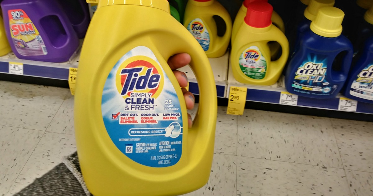 image regarding Tide Simply Clean Printable Coupons identified as Walgreens: Tide Simply just Fresh new Simply $1.99 (Constantly $6.99