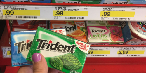 Target Shoppers! Snag Three FREE Packs of Trident Gum