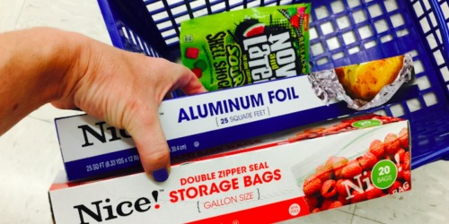 Walgreens Shoppers! FREE Aluminum Foil & Storage Bags – Just Buy Candy