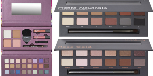 TWO Ulta Beauty Eyeshadow Palettes, 1 Deluxe Palette & Samples ONLY $18