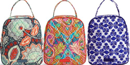 Vera Bradley Lunch Bags Just $17 Shipped & More