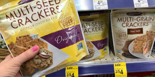 Walgreens: Better Than FREE Crunchmaster Gluten-Free Crackers