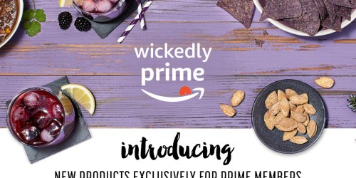 Amazon Wickedly Prime: Gourmet Snacks & Grocery Items w/ 100% Satisfaction Guarantee