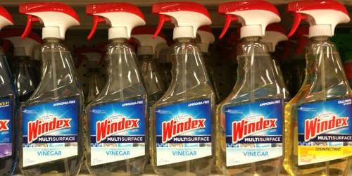 Windex Vinegar Multi-Surface Spray Only $2.50 on Amazon (Regularly $8)