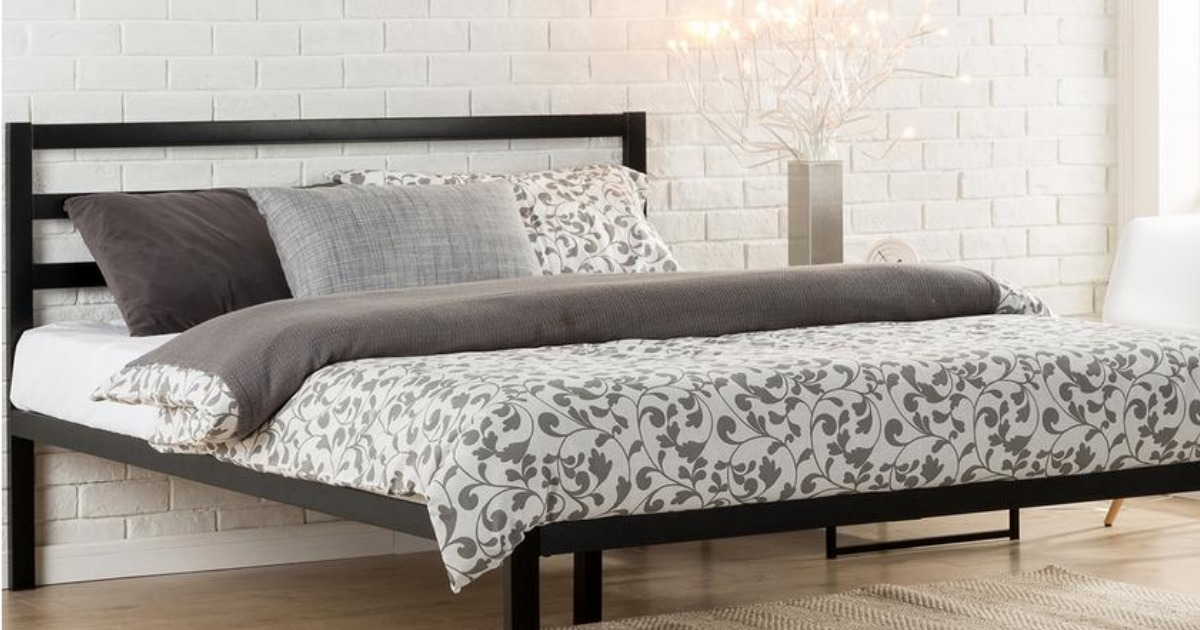 Home Depot King Size Platform Bed W Headboard Only 99