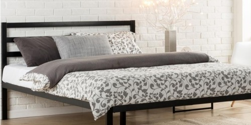 Home Depot: King Size Platform Bed w/ Headboard Only $99 Shipped (Regularly $141.67)