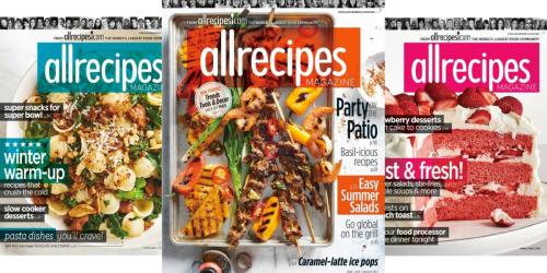 AllRecipes Magazine Subscription Only $4.99