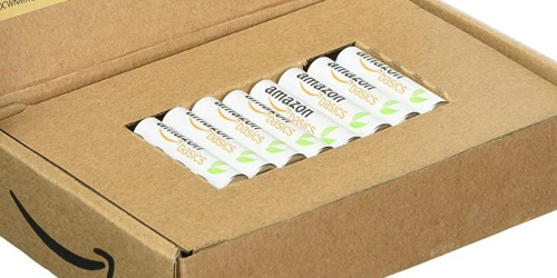 AmazonBasics AAA Rechargeable Batteries 8-Pack Only $9.99 (Recharge Up to 1,000 Times)