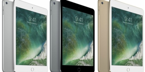 Apple iPad Mini 4 128GB Wi-Fi Only $319.99 Shipped