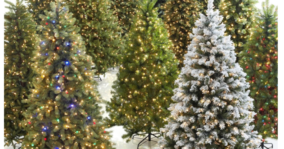 Home Depot: 75% Off Artificial Christmas Trees = 6.5' Tree