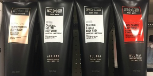 Target.com: Axe Body Wash ONLY $2.14 Each (Regularly $4.49) & MORE