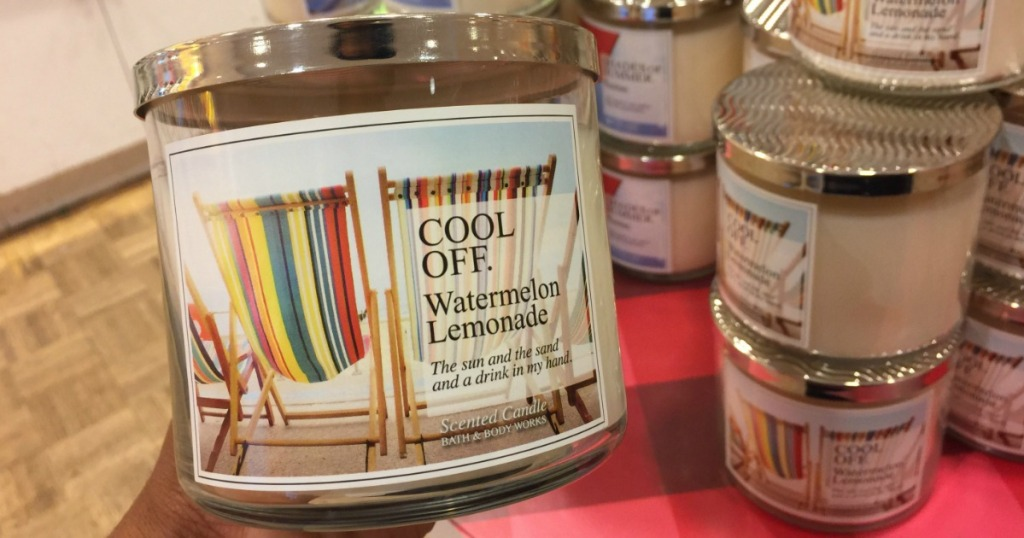 Bath Body Works 3 Wick Candles As Low As 667 Each Regularly