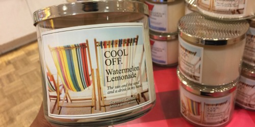 Bath & Body Works: 3-Wick Candles As Low As $6.67 Each (Regularly $22.50)