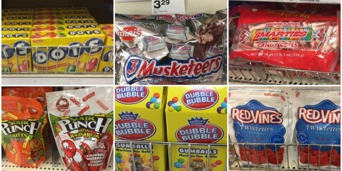 Target: Sweet Discounts on Candy (Mars Chocolates, Junior Mints, Dots, Red Vines & More)