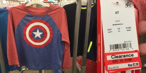 Target Clearance: 70% off Baby & Toddler Clothing