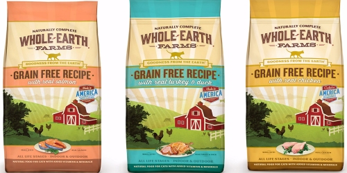 PetCo Pals Rewards Members: Free Whole Earth Farms Cat Food 2.5 Lb Bag w/ ANY Purchase