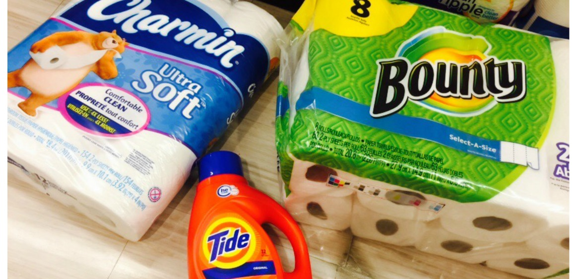 Rite Aid 26 Worth Of Tide Bounty Amp Charmin Products