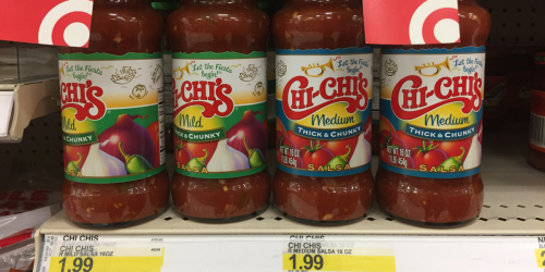 Target: Chi-Chi's Salsa ONLY 84¢ After Cash Back (Regularly $1.99)
