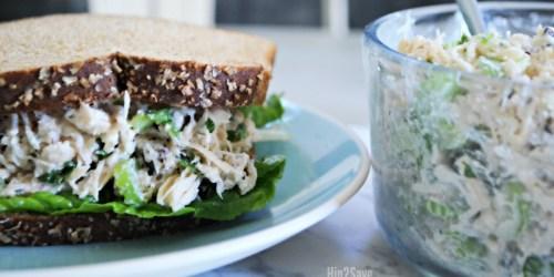 Walnut Chicken Salad Sandwiches