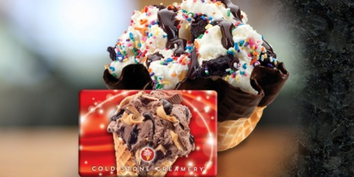 Amazon: $50 eGift Cards Just $40 (Cold Stone Creamery, Dollar Shave Club + More)