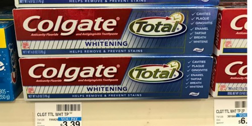 TWO New $1/1 Colgate Toothpaste & Mouthwash Coupons = 49¢ Toothpaste at CVS