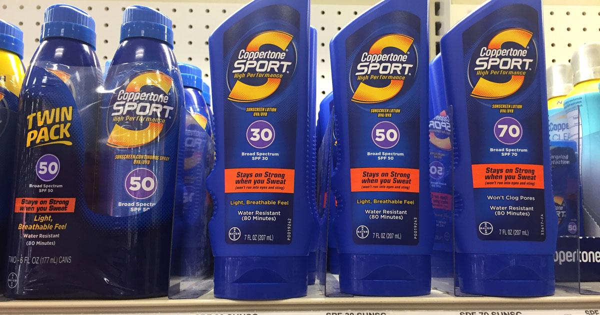 Amazon: Coppertone SPORT Sunscreen Just $2.70 Shipped