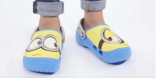 Crocs.com: Extra 35% Off + Stackable 10% Off = Minions Clogs Just $20.47 (Regularly $35)