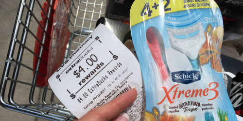 CVS Shoppers! Schick Disposable Razors Only $1.99 (After Rewards)