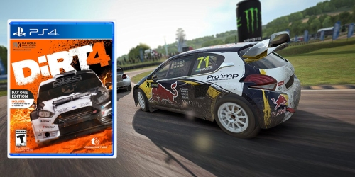 DiRT 4 Day One Edition – PlayStation 4 Pre-Order Only $40.31 Shipped (Regularly $59.99)
