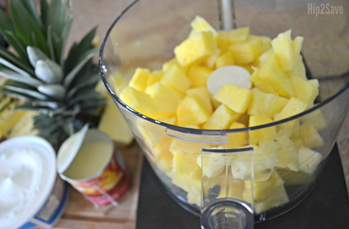 pineapple for Disney dole whip