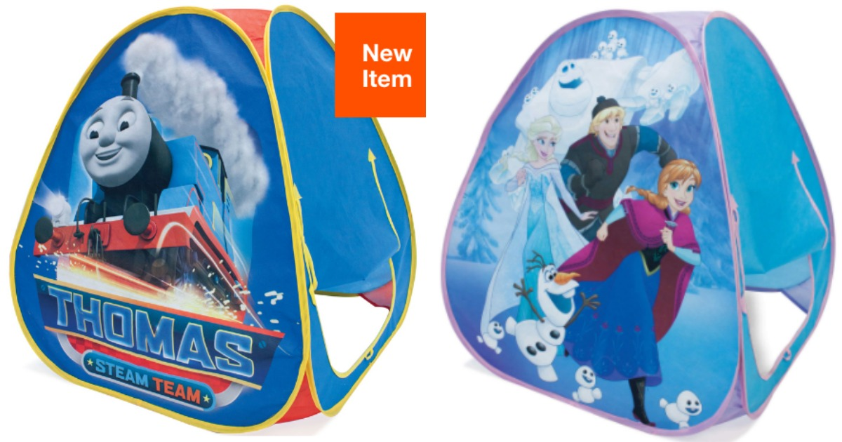 super popular 10fee 7660a Disney & Nickelodeon Pop-Up Tents Only $5 (Frozen, Thomas ...