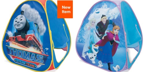 Disney & Nickelodeon Pop-Up Tents Only $5 (Frozen, Thomas the Train, PAW Patrol & More)