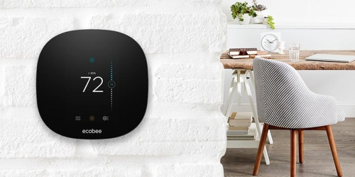 Free Amazon Echo Dot ($50 Value) w/ Ecobee3 Lite Smart Thermostat Purchase at Best Buy