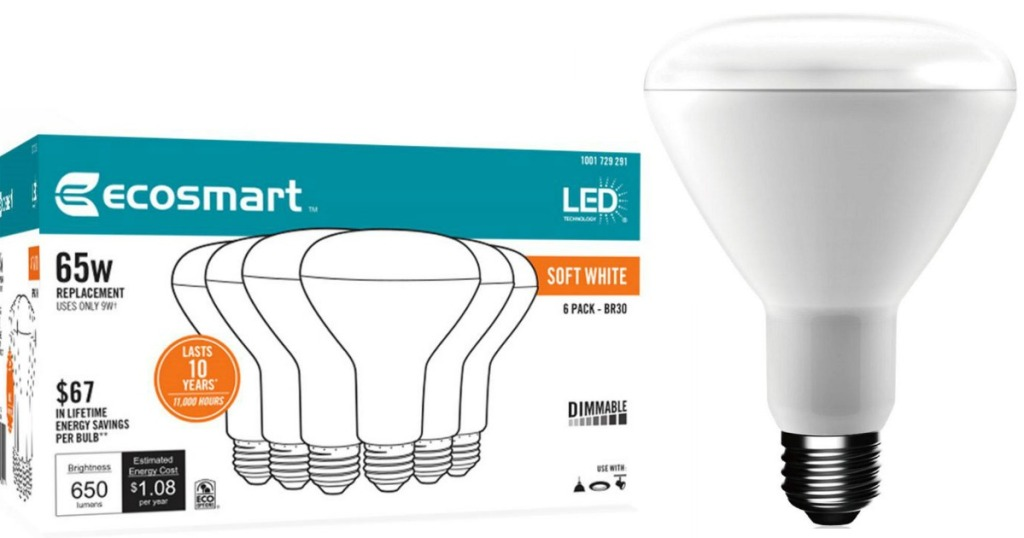 Home Depot Nice Savings On Ecosmart Led Light Bulbs As Low