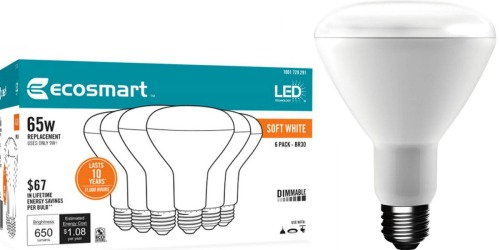 Home Depot: Nice Savings on EcoSmart LED Light Bulbs (As low As $1.42 per Bulb)