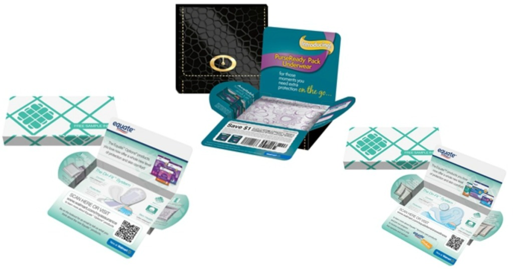 FREE Equate or Assurance Pads and Liners Sample Pack - Hip2Save