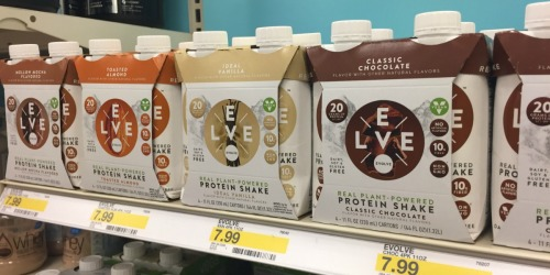 Target Shoppers! 50% Off Evolve Protein Shakes