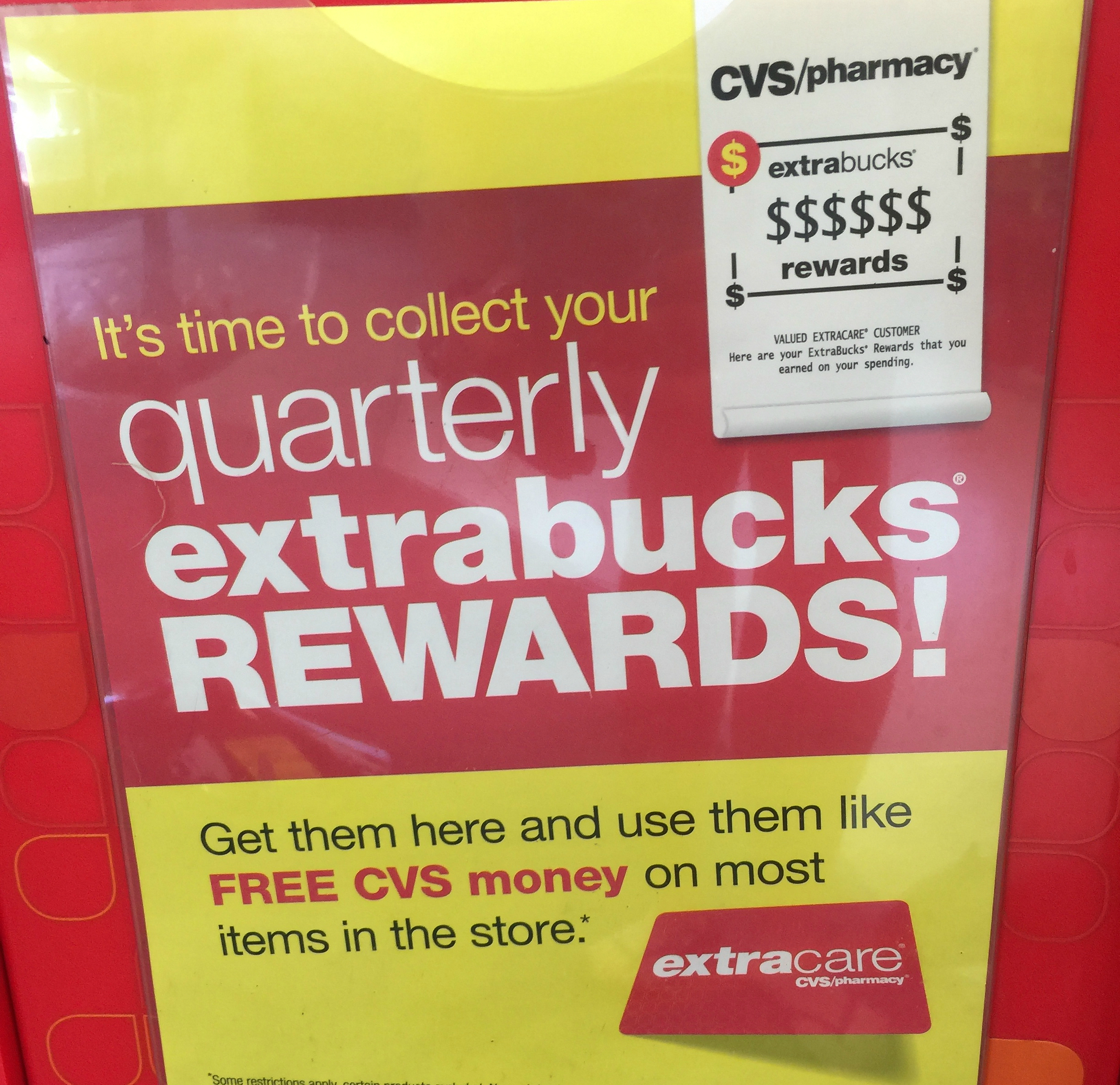 cvs store guide – extrabucks rewards sign
