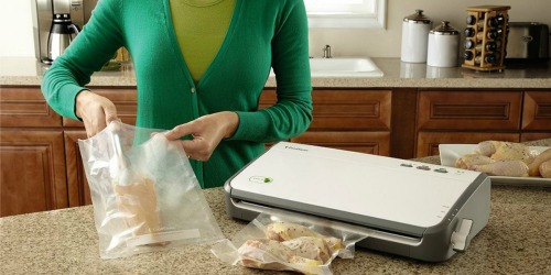 Kohl's Cardholders: FoodSaver Vacuum Sealing System ONLY $39.99 Shipped After Rebate